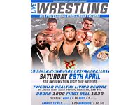 LIVE FAMILY FRIENDLY WRESTLING IN TWECHAR FEATURING TV STAR GRADO