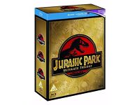 Jurassic Park, The Lost World, & JP3 Trilogy on Blu-Ray BRAND NEW (Excludes Digital Copies)