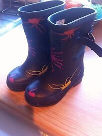 Infant joules wellies