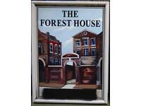 Vintage pub signs from Forest House Cheshire