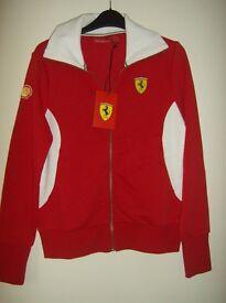 Womens Ferrari jacket size 10/12