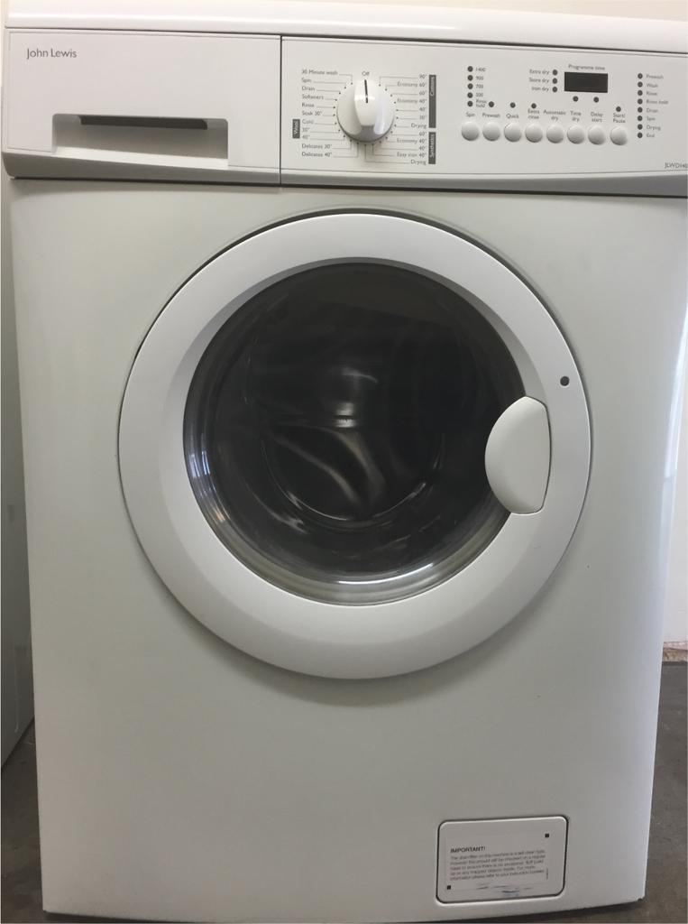 John Lewis washer/dryer can deliver