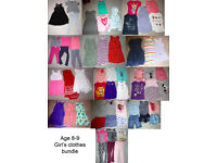 Age 8-9 Girl's Clothes Huge Bundle -- 60 items