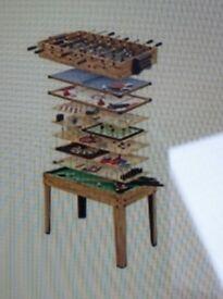 Brilliant multi game's table
