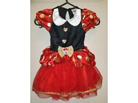 BNWT Girls Disney Minnie Mouse Costume 1-2 yrs (80-92cm)