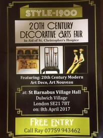 20th Century Decorative Arts Fair