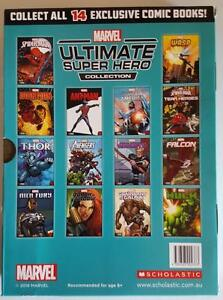 2016 Marvels Sun Herald Ultimate Super Hero Comic Book Collection