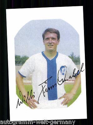 Willi Dürschnabel Karlsruher SC TOP Orig. Sign. +A 61581