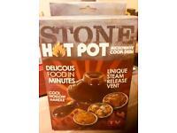 Stone microwaveable hot pot