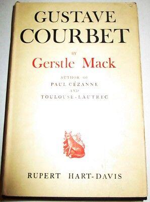 Used, GUSTAVE COURBET BY GERSTEL MACK RUPERT HART-DAVIS 1951 LONDON HARD COVER DJ for sale  Clinton