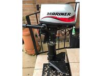 Mariner 5hp 4 stroke outboard engine