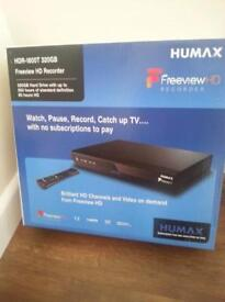 Humax HDR freeview box