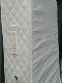 ikea foam mattress, 90 x 200cm. 23cm thick. has zip removable washable cover. In very good condition
