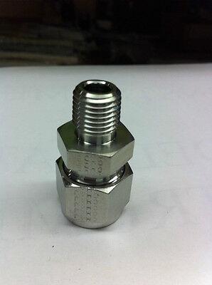 Hastelloy-c A-lok Male Adapter Parker Part 8msc4n-hc Hast C Fittings