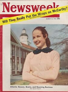 MARCH-15-1954-NEWSWEEK-Vintage-news-magazine-ATLANTA
