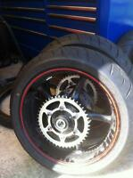 2014 YAMAHA R6R WHEELS WITH ONLY 50 MILES ON THEM