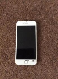 iPhone 6 silver grey 64gb UNLOCKED Spares or repair, not working