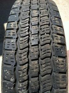 2 - General Grabber Tires with Very Good Tread - LT 225/75 R17