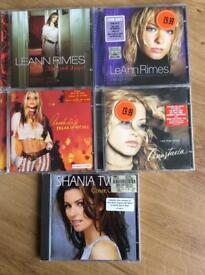 5 female artist cd's