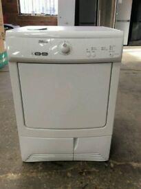 White Zannusi 7 Kg Load Condenser Tumble Dryer