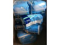 Mixed bundle of Tena comfort pads /wipes/ sickbowls