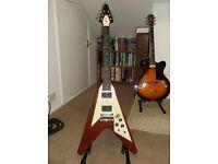 Gibson 'Flying V' guitar