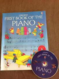 Piano book and CD
