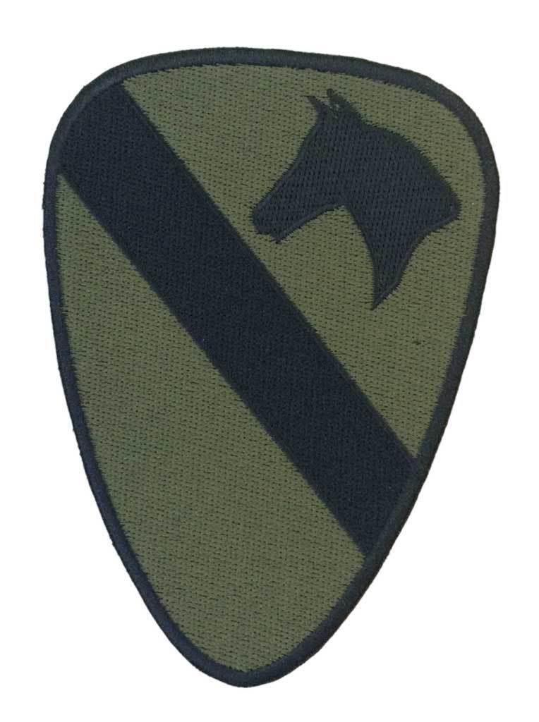 Parche bordado 82 aerotransportada US verde y negro para coser o pegar