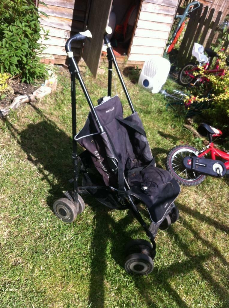 Maclaren Techno Xt Buggy Complete And Working But Used