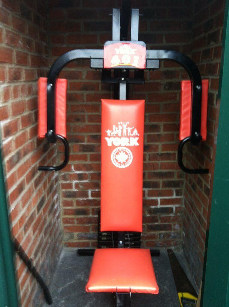 york 401 multi gym. york 401 multi gym for sale good working order -