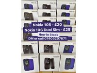 Nokia 105 Brand New Unlocked