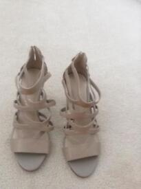Brand new ladies stiletto size 5 sandals