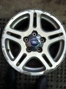 "4 - 2000 - 2004 Ford F150 17"" Alloy Rims with Center Caps"