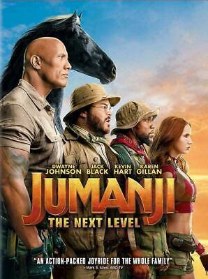 Jumanji:The Next Level [DVD, 2020] NEW* Action* PRE-ORDER FOR 03/17/2020