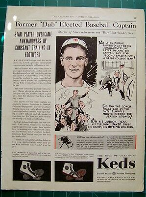 Vintage ad Keds Sneakers Sport Shoes  1931