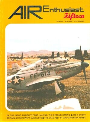 Air Enthusiast 4-7 April-July 1981 No.15 Issue Magazine U