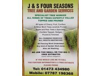 J&S Four Seasons Tree and Garden Services