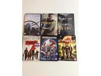 6 DVDs bulk