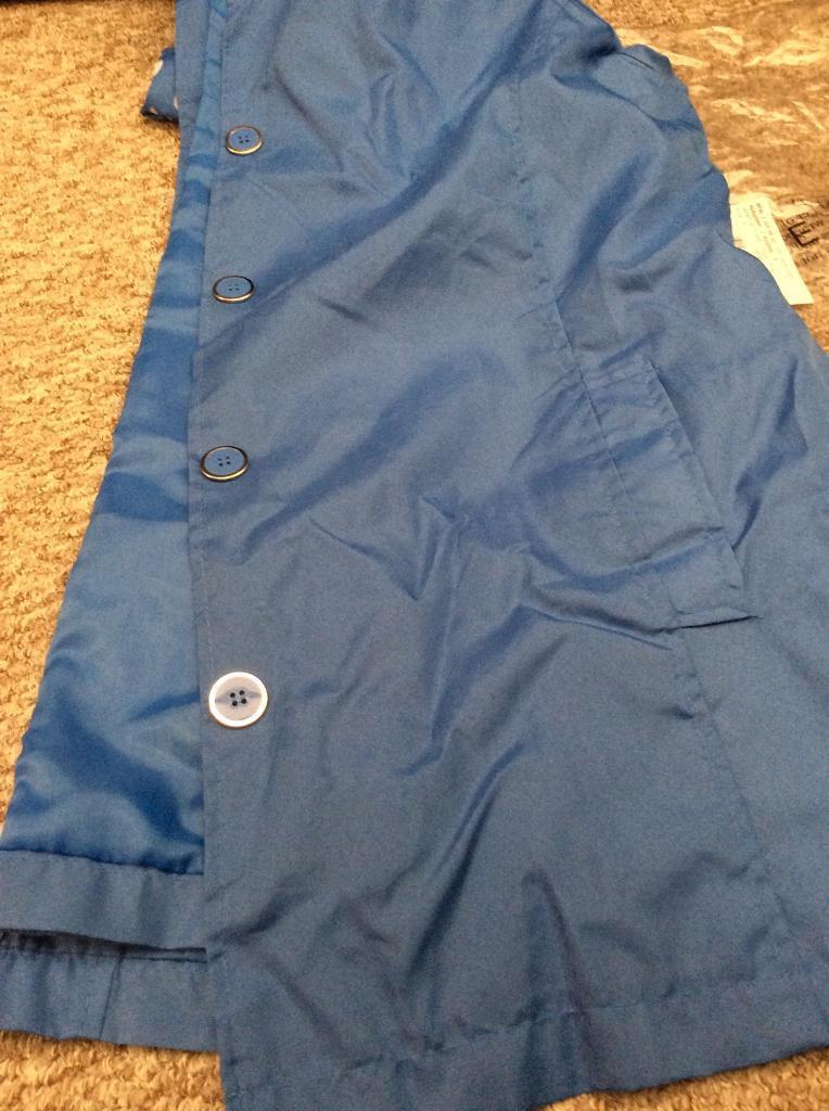 Ladies. Blue jacket