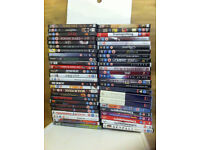 Dvd collection in storage box 45+