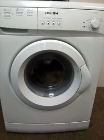Bush F621QW 1200 Spin 6KG Load Washing Machine in White only 18mths old!!