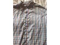 Checked Paul Smith short sleeved shirt