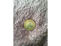 £2 Coin , two Pound Coin , 2014