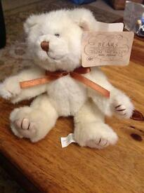 'Bears from the Past' fully jointed teddy bear