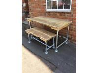 Rustic Reclaimed Scaffold Desk