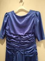 Robe blue très original/ original blue dress