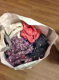 Girls 2-3 years bag of clothes