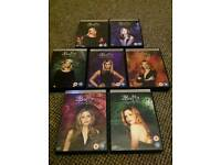 Buffy the vampire slayer complete DVD set.