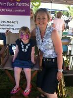 Face Painting in Muskoka and Haliburton