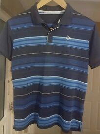Mens Dunlop collared T-shirt in size Small